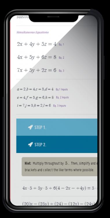 Mathcrave Equation Solver